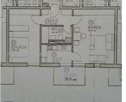 Wunderschöne Zwei-Zimmer Wohnung mit Balkon und EBK in ruhiger Lage