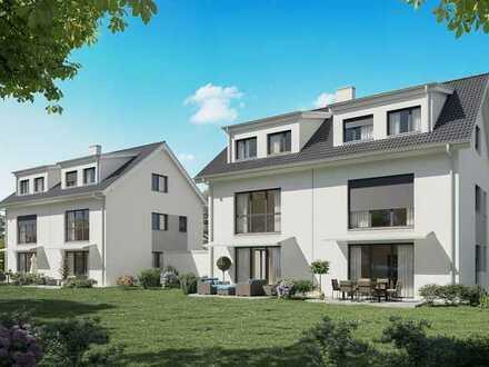 Familienglück: La dolce vita in Reinheim. DHH mit Gartenanteil, Garage, 2 Bäder + Gäste WC