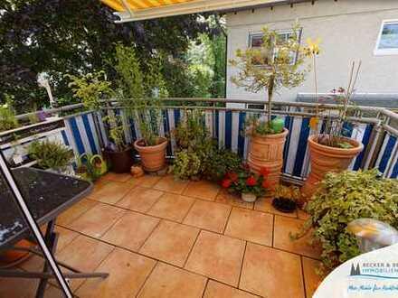 Familienwohnung in Wahnheide: 4 Zimmer, zwei Balkone, Einbauküche und Stellplatz!