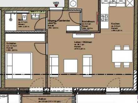 2 Zimmer Neubau Wohnung zu vermieten