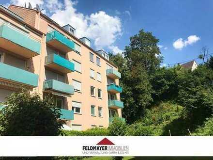 Geräumige 4 ZKB mit Süd-Balkon, Garage & Stellplatz in ruhiger Wohnlage in Steppach!
