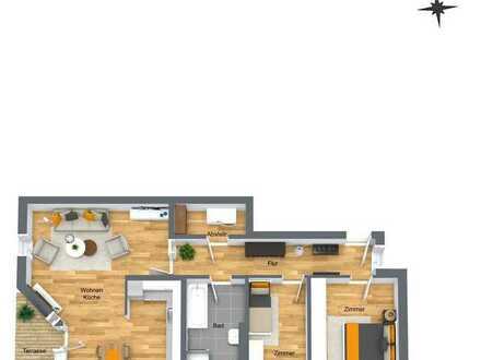 Neubauprojekt: Moderne 3-Zimmer Wohnung mit Terrasse in Bentwisch