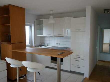 Schöne 1-Raum-Penthouse-Wohnung mit Balkon in Oftersheim