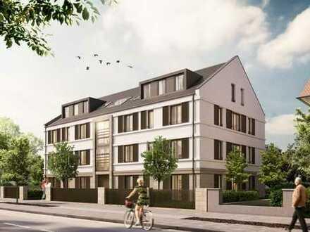 Tolle Lage direkt am Stadtpark: Erstbezug 4-Zimmer-Wohnung mit Balkon, Auzug u. TG