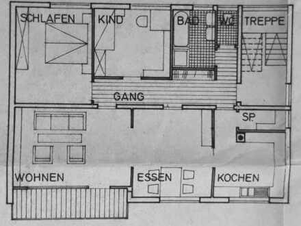 3,5-Zimmer-Wohnung mit Balkon in Lauchheim-Hülen