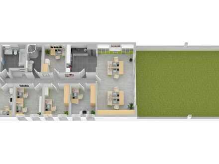 RESERVIERT! Büroeinheit mit über 60 m² Terasse zu vermieten
