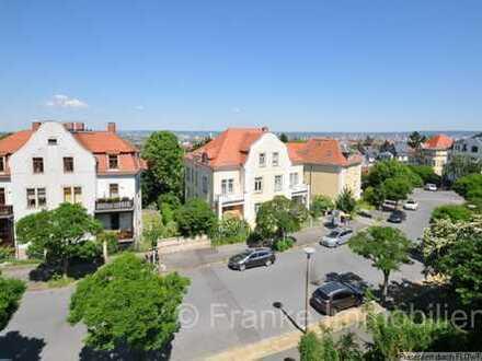 Plauen - hochwertige 5-Zi.-Wohnung mit Südbalkon, tollem Ausbick in ruhiger Lage