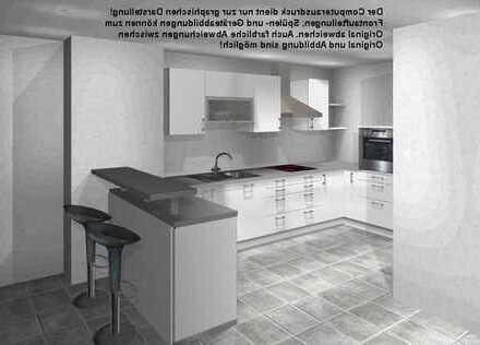 Erstbezug: stilvolle 4,5-Zimmer-Penthouse-Wohnung mit Einbauküche und gr. Dachterrasse