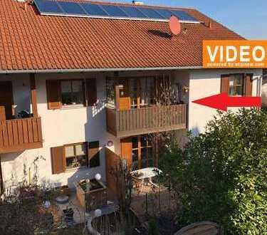 Gemütliche 3-ZKB-Wohnung inattraktiver Lage, mit Garage und Gartenanteil! Sofort verfügbar!!