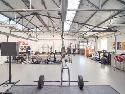 Glashütte Haltern: Industriehalle zum lagern, sammeln, handeln, ausstellen und verwirklichen