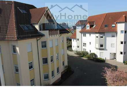 Gemütliche helle 1 Zimmer-Wohnung m. großem Balkon in zentraler Lage von Lampertheim!!!!