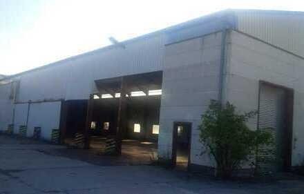 Lagerhalle / Produktionshalle mit großer Freifläche zu vermieten