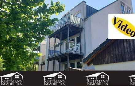 **3-Zimmer Wohnung mit 2 Balkonen und Garage!!**