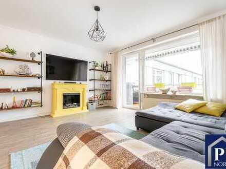 Stilvoll renovierte Eigentumswohnung in ruhiger Lage von Kiel!