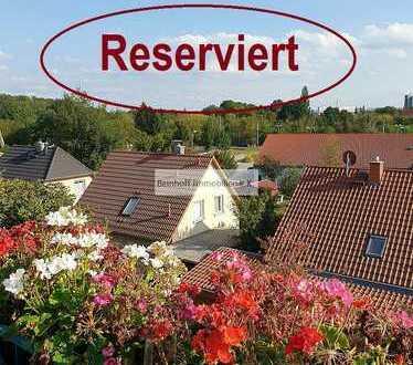 * Reserviert! * Mit schönem Blick in die Umgebung! Moderne, vermietete Dachwohnung zu verkaufen!
