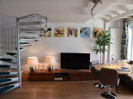 Wunderschöne, individuelle & helle DG-Maisonette Wohnung in sehr gepflegtem MFH!
