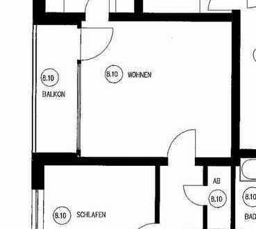 Willich, 1. OG mit Aufzug, 2 ZKDB, Balkon, in sehr gepflegtem Haus