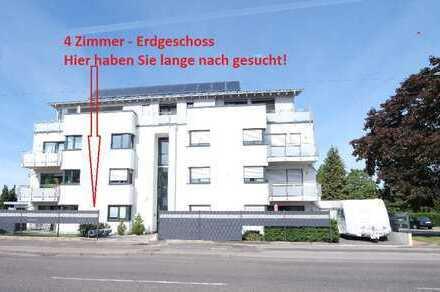 Moderne 4 Zimmer-Wohnung mit Aufzug und TG-Stellplatz mitten in Spich.