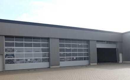 Köln-Porz-Gremberghoven! Neubauhalle mit zwei Rolltoren, Büro in Autobahnnähe!