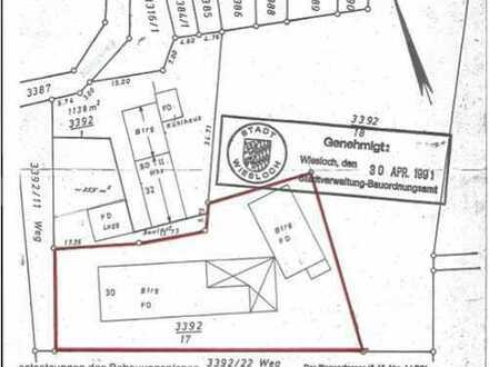 Gewerbegrundstück mit Halle/Freifläche, Nebengebäude mit Büro/Lager