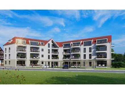 Neubauprojekt! Schicke 2 Zimmer Wohnung mit großem Südbalkon!