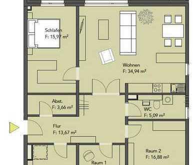 Neubau/ Erstbezug, 4 Zimmer, Parkett, Fußbodenheizung, EBK, Gäste WC, Loggia, Aufzug, Tiefgarage