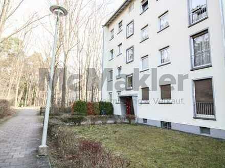 Kapitalanlage oder neues Zuhause: 1-Zi.-Apartment mit Balkon in Karlsruhe-Waldstadt