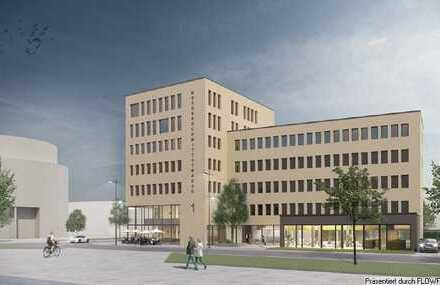 Messerschmittstraße 1: Neubau Bürogebäude nach Mieterwunsch