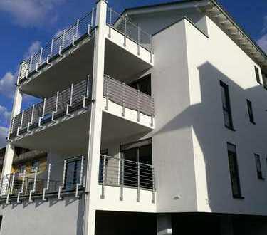 Erstbezug Neubau! Moderne barrierefreie 2 ZKB Whg. Terrasse in 55411 Bingen, mit Rheinblick