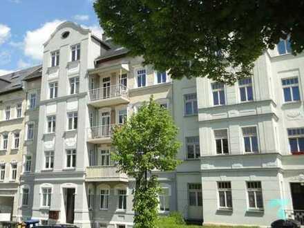 Familienfreundliche 4 Raum-Whg. mit Balkon und Tageslichtbad auf dem Chemnitzer Kaßberg !