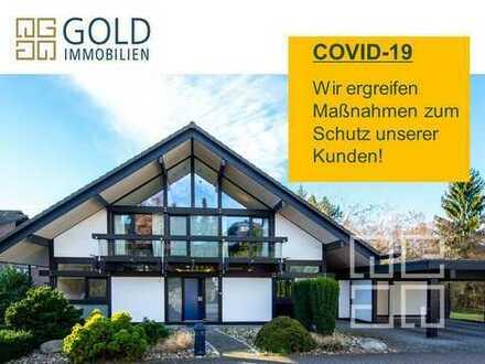 GOLD IMMOBILIEN: Phantastisches HUF HAUS mit großem Anwesen in Dreieichenhain