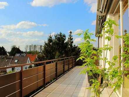 renoviert, hell, ruhig mit traumhaften Terrassen
