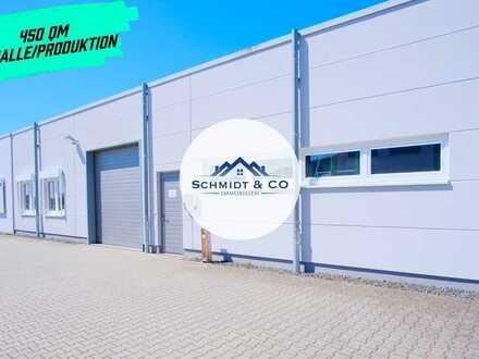 Produktions - Lagerhalle mit Ausstellungsfläche
