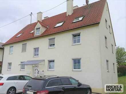 Kapitalanlage oder Eigennutzung! 2-Zimmer-Wohnung inklusive Gartenanteil - Stetten im Allgäu