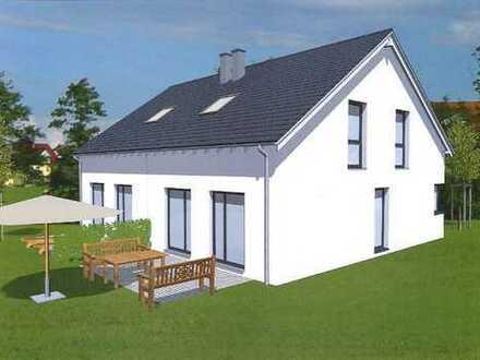 Neubau von moderner Doppelhaushälfte in familiärer Wohnlage !