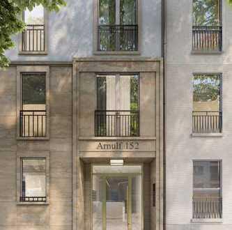 In schöner Umgebung: 2-Zimmer-Wohnung mit Balkon und die City zum Greifen nah!