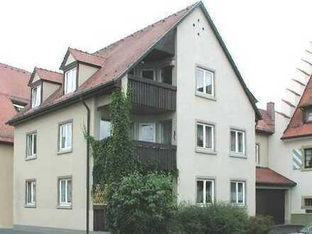 Sonnige 3-Zimmer-Dachgeschoss-Wohnung mit Loggia in Hüfingen Altstadt