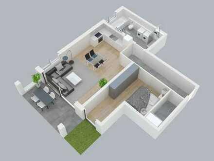 Neubau-2-Zimmer-Wohnung an den Obernauer Mainhöhen