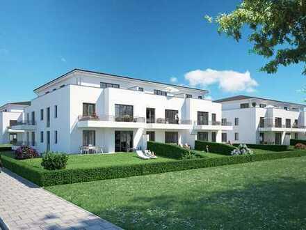 Großzügige 2-Zimmerwohnung mit Garten und Sonnenterrasse!