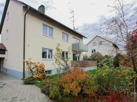 Teilrenovierte 6 Zimmer Whg. mit ca. 74 m² Wfl. in Buckenhofen