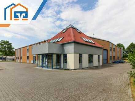 Großzügige Produktionshalle mit Bürogebäude im Industriegebiet Geisa