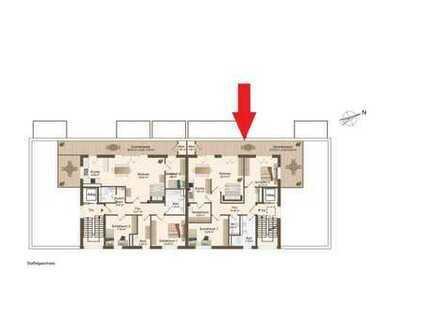 Staffelgeschoss: 3-Zimmer-Neubauwohnung mit schöner, großer Dachterrasse (Whg. 12)
