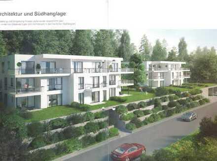 Erstbezug: 3-Zimmer-EG-Terrassenwohnung, 92 qm + Terrasse/Garten, in Südhanglage in Kelheim