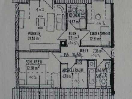 Schöne vier Zimmer Wohnung in Kissing