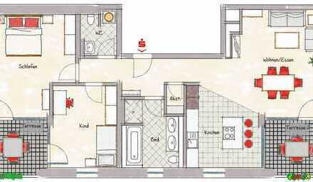 Moderne 3-Zimmer-Wohnung im Herzen von Mannheim
