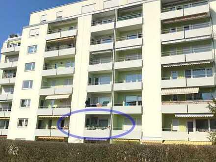 Vermietetes 1-Zimmer-Apartment mit ca. 31 m² Wohnfläche und Balkon in zentraler Lage in Hersbruck