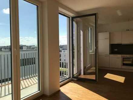 Glasbläserhöfe: Tolle, helle 3 Zimmer-Wohnung mit großzügigem Balkon!