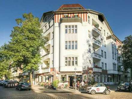 1 Zimmer mit Balkon im Schillerkiez