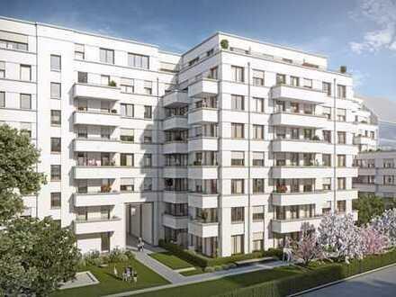 Neubau-Erstbezug - 2-Zimmerwohnung mit großem Balkon in ruhigen Innenhof und EBK