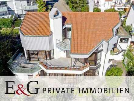 Großzügiges Anwesen im Loftstil in gefragter Aussichtslage in Korb
